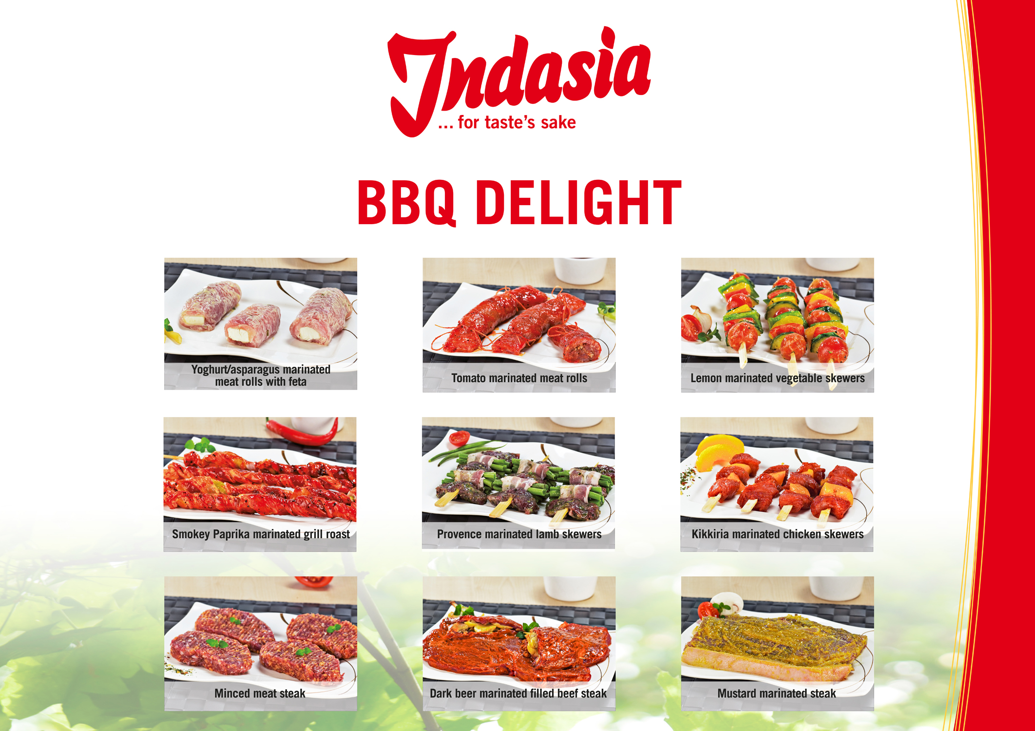 Poster BBQ Delight