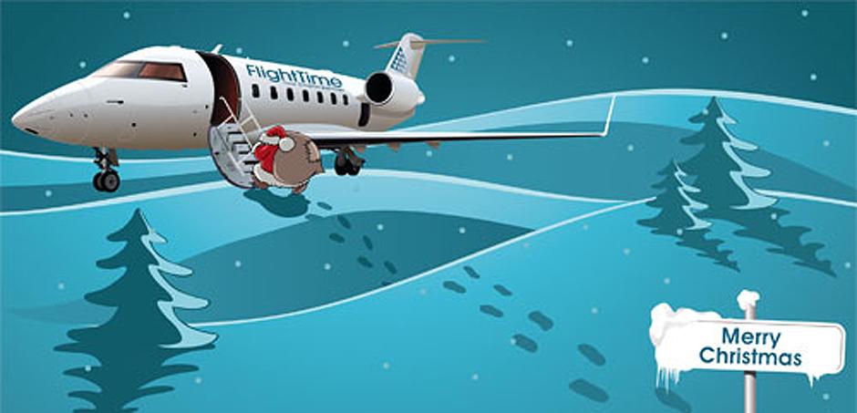 Weihnachtskarte Flighttime GmbH in Ritterhude