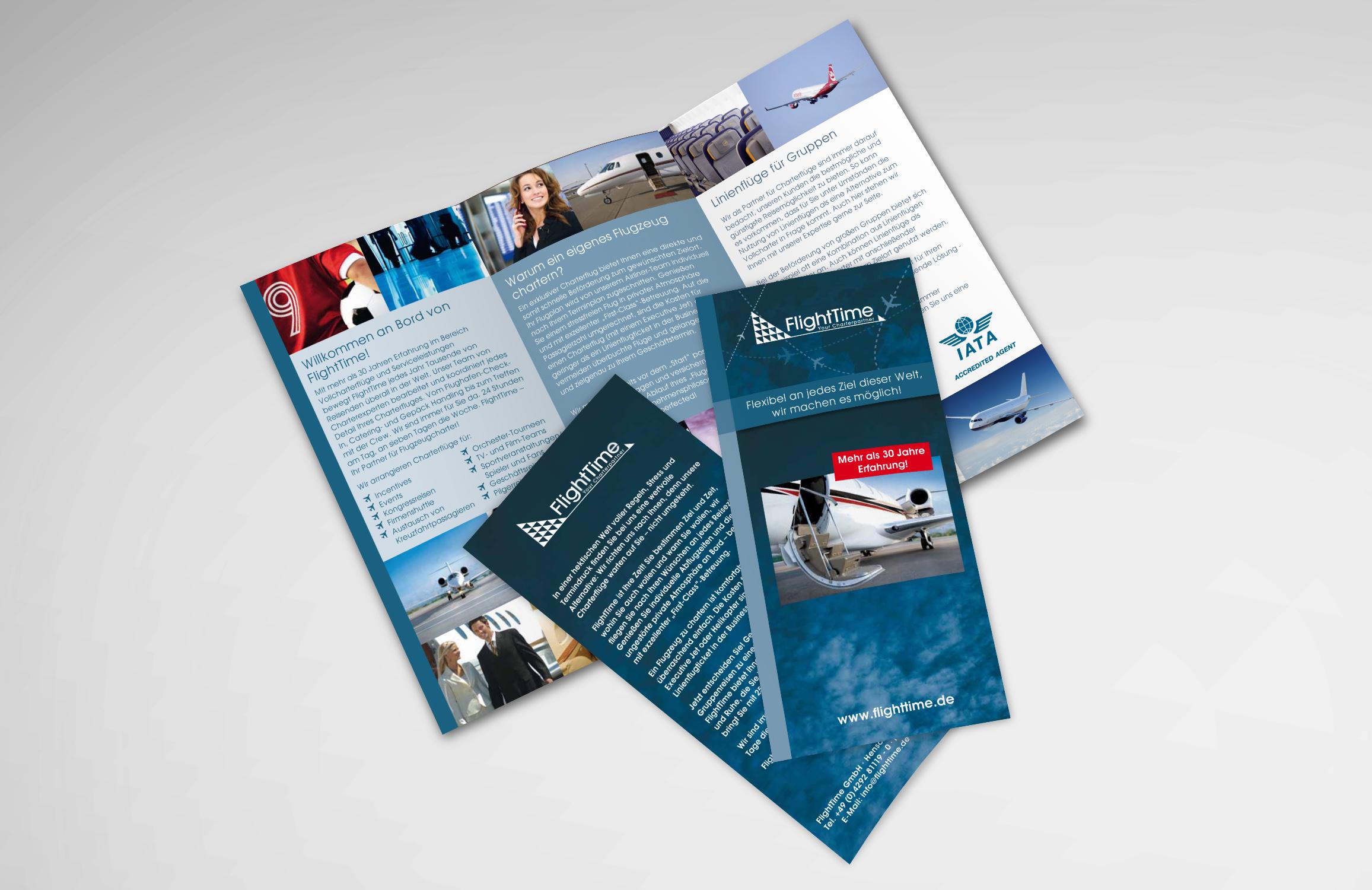 Flyerabbildung Flighttime GmbH in Ritterhude