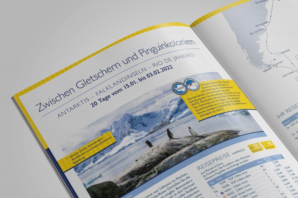 MS HAMBURG Katalog Kreuzfahrt 2021 bis 2022